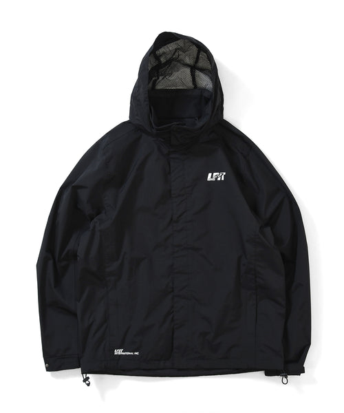 LFYT 2LAYER MOUNTAIN PARKA BLACK LA201006