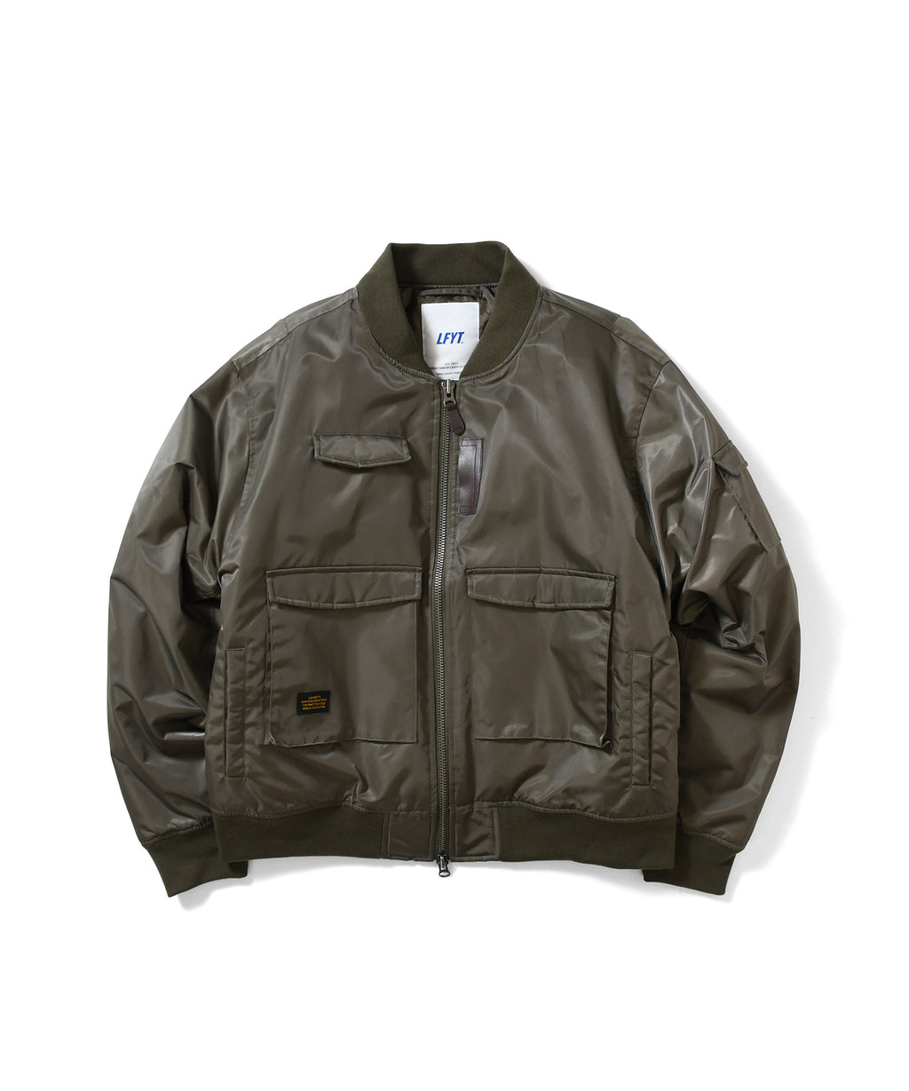 TACTICAL BOMBER JACKET OLIVE LA201007