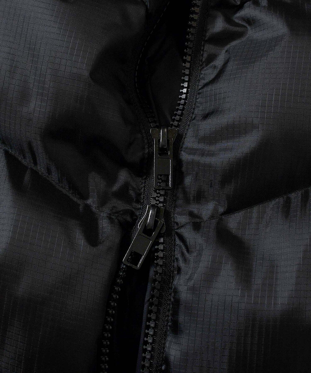 DIAGONAL PUFFER JACKET BLACK LA201010