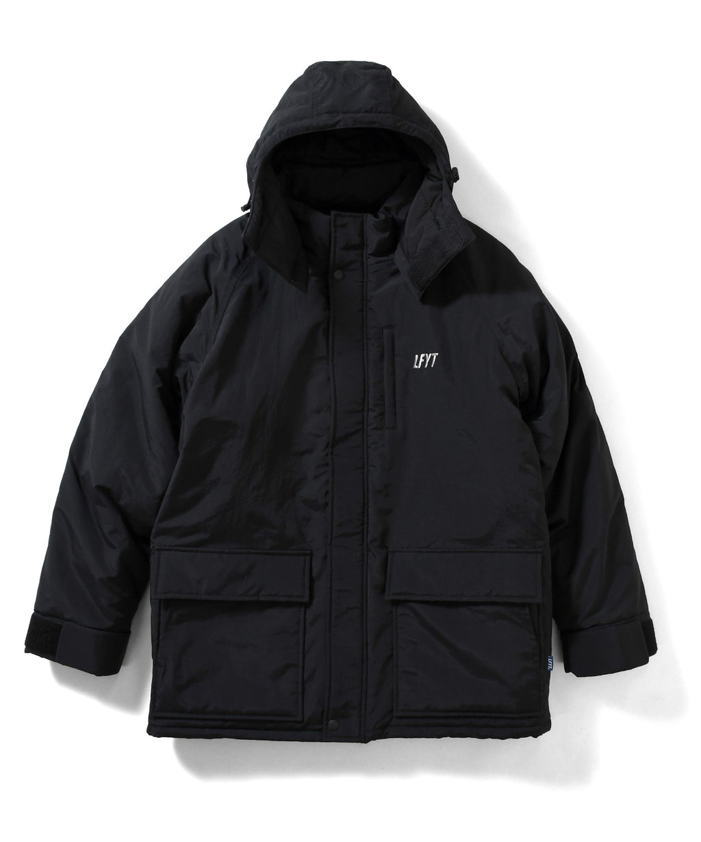 PRIMALOFT OVER SIZED JACKET LA201013 BLACK