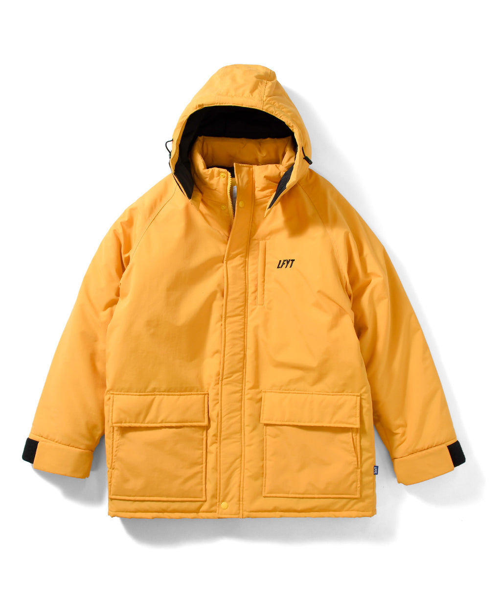 PRIMALOFT OVER SIZED JACKET LA201013 YELLOW