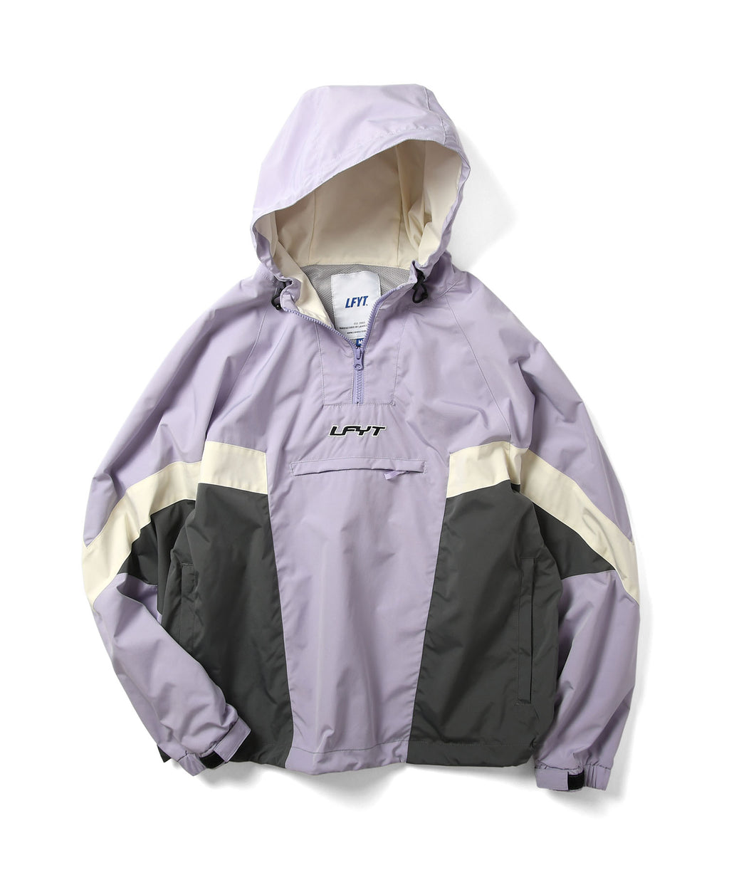 LFYT SPORTS ANORAK TRACK JACKET LS211002 LIGHT PURPLE