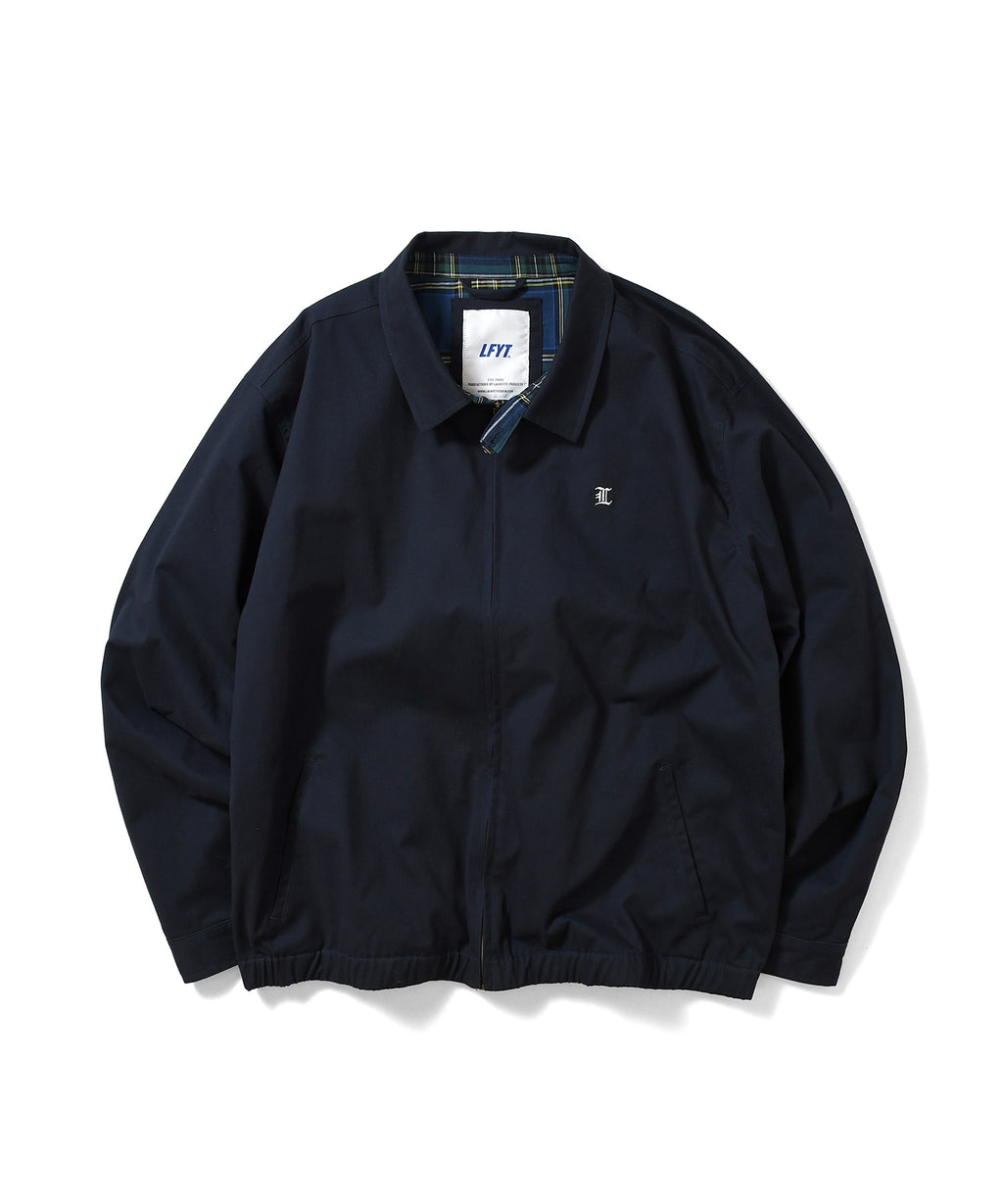 L LOGO COTTON WINDBREAKER LS211004 NAVY
