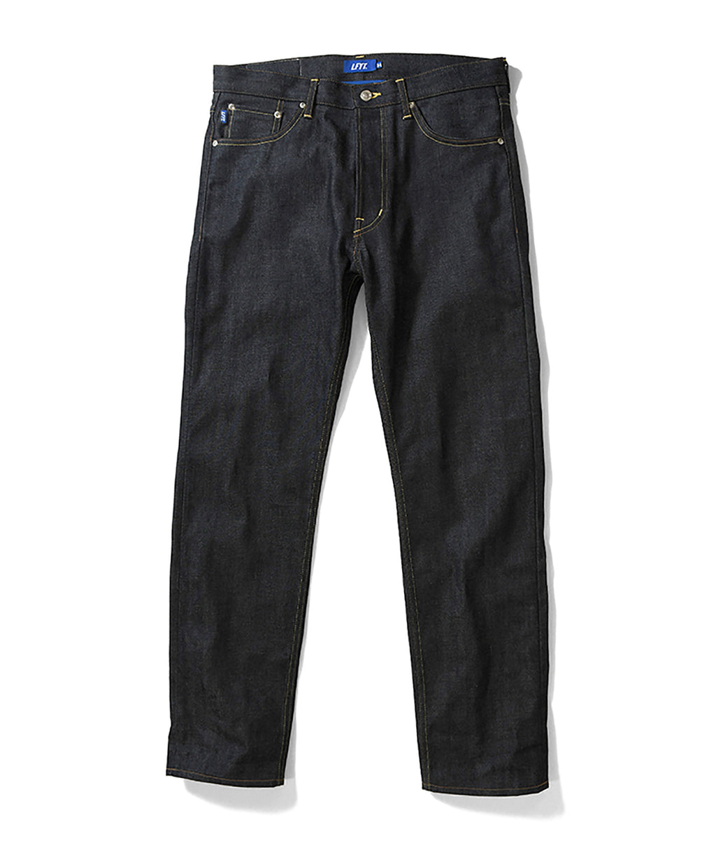 LA201102 5 POCKET SELVAGE DENIM PANTS STANDARD FIT INDIGO