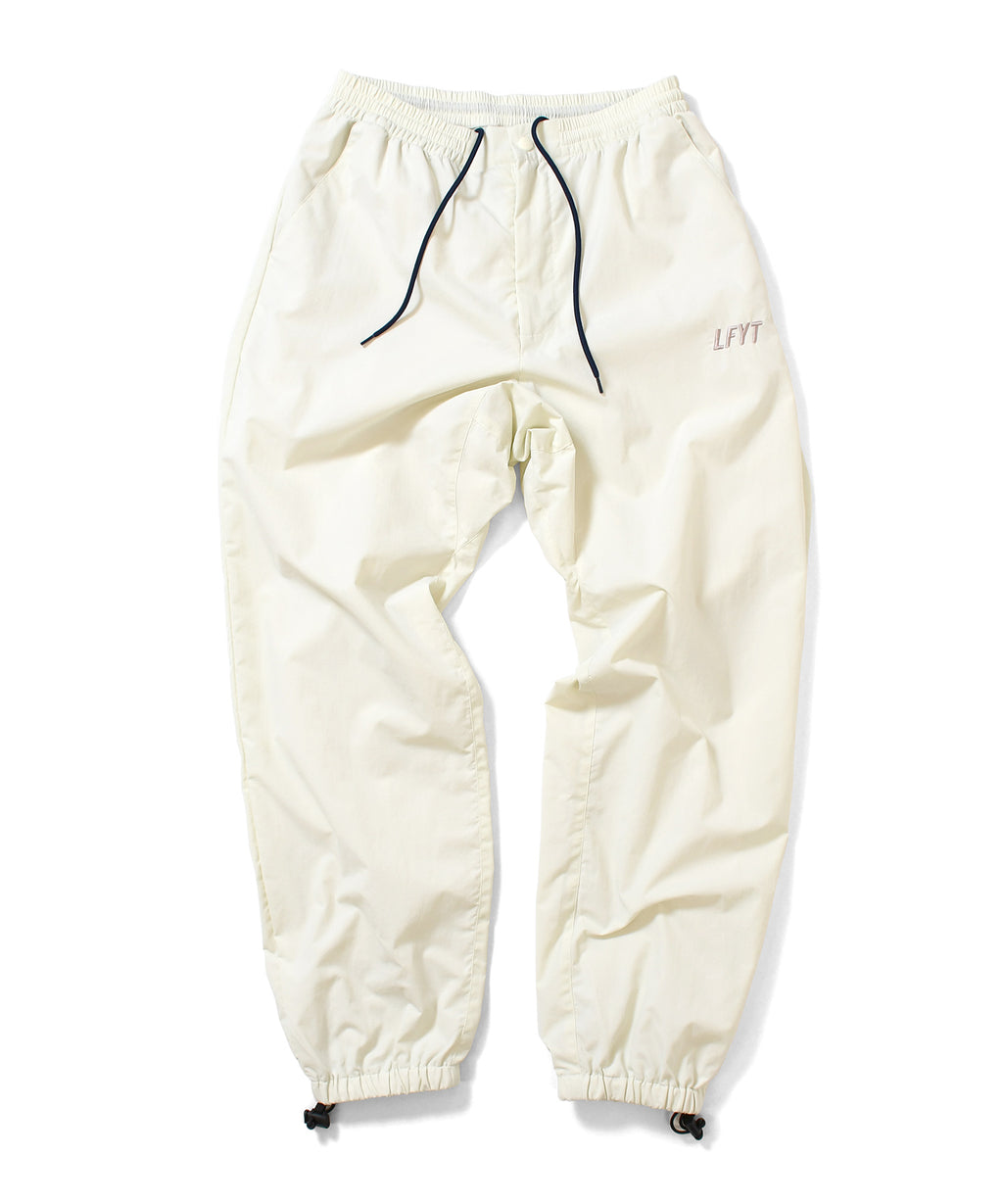 SPORT NYLON TRACK PANTS NATURAL LA201201