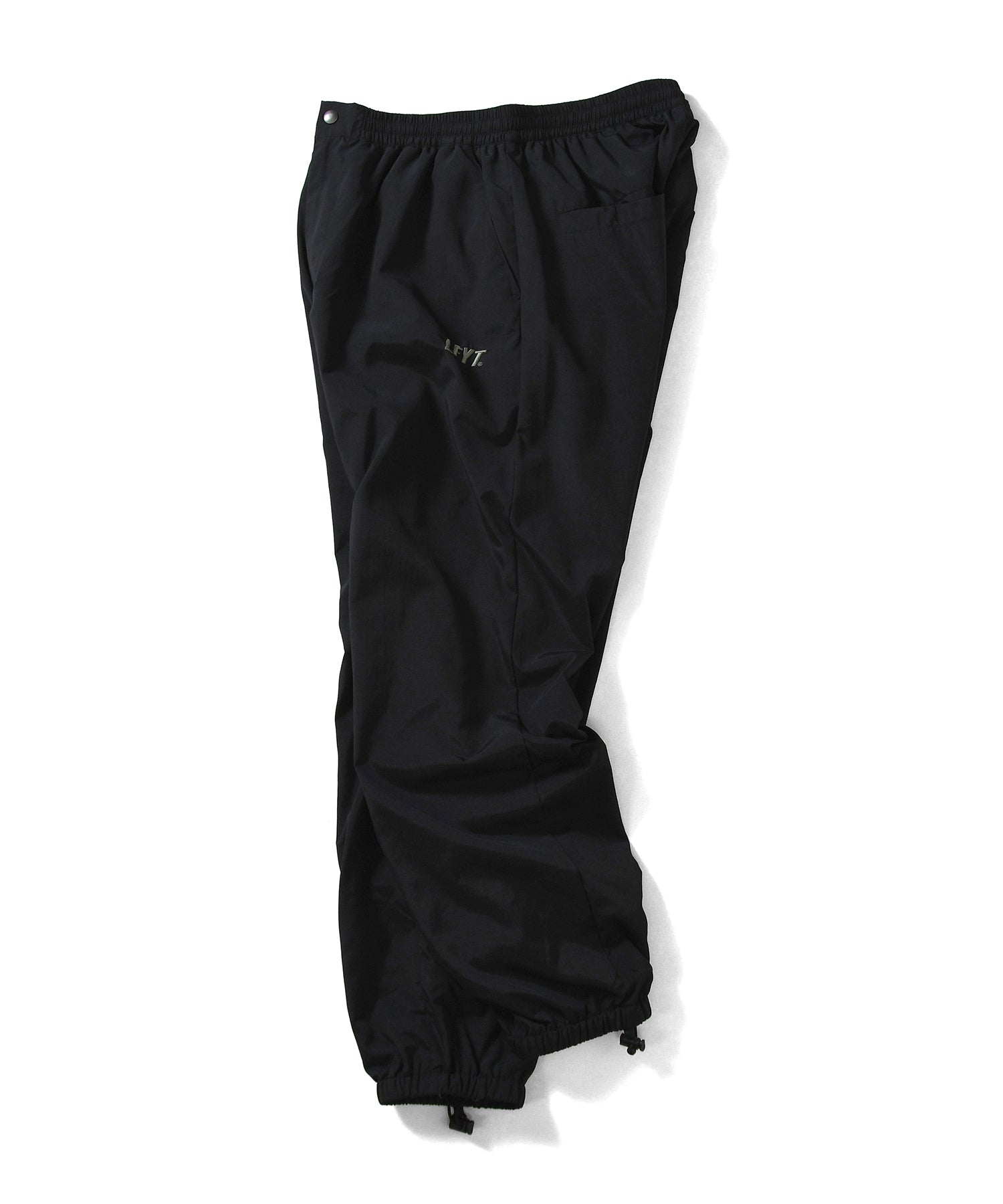 SPORT NYLON TRACK PANTS BLACK LA201201