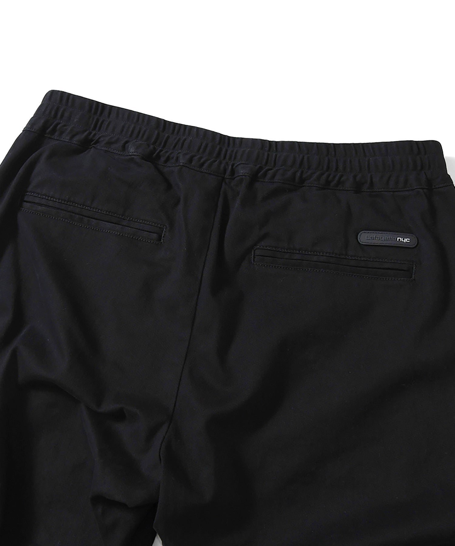 LA201202 STRETCH JOGGER PANTS BLACK