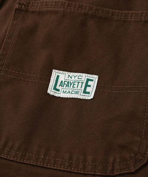 WORKERS DOUBLE KNEE DUCK PAINTER PANTS LA201203  BROWN