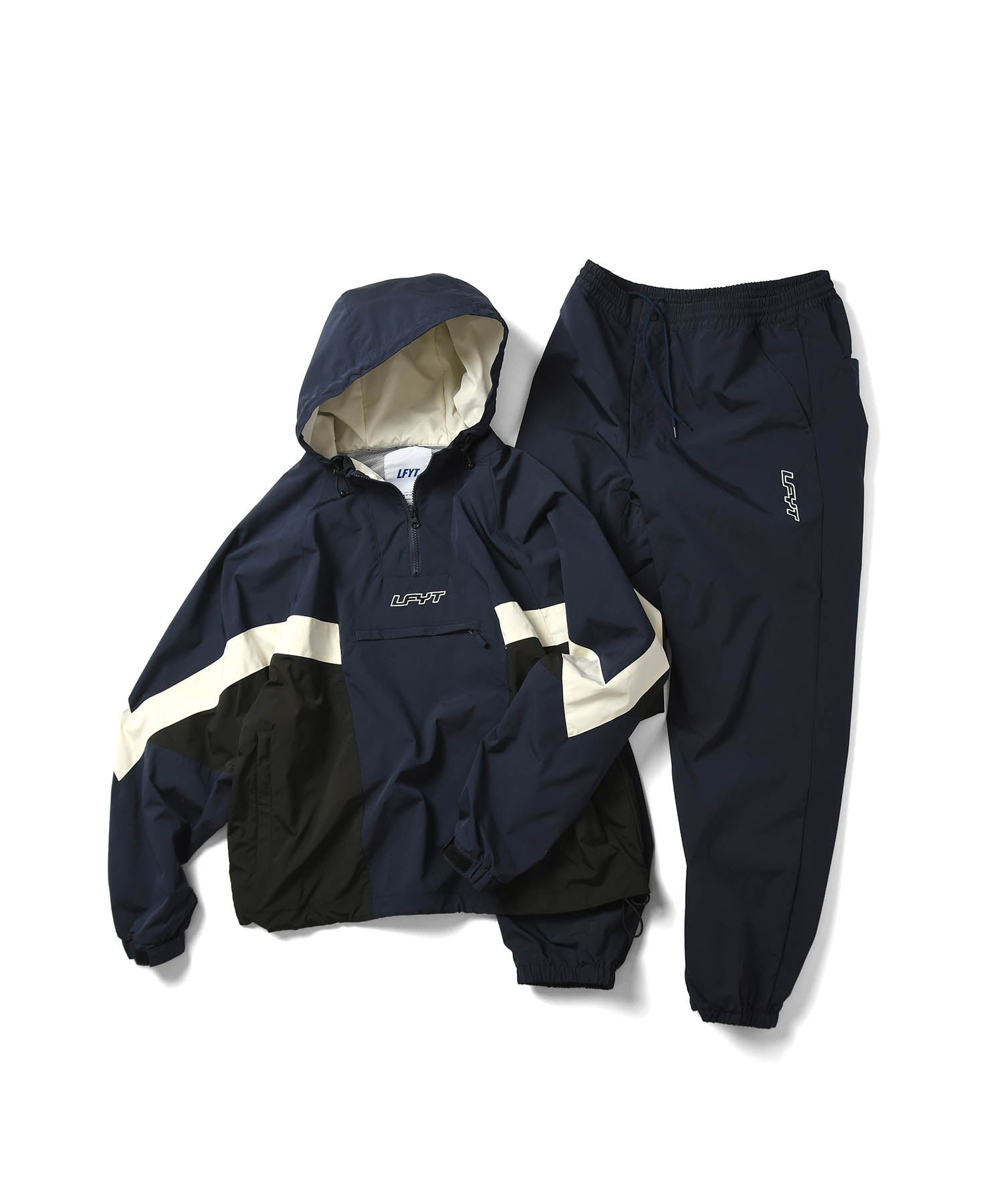 LFYT SPORTS TRACK PANTS LS211201 NAVY
