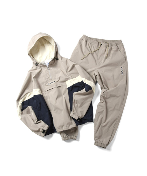 LFYT SPORTS TRACK PANTS LS211201 BEIGE