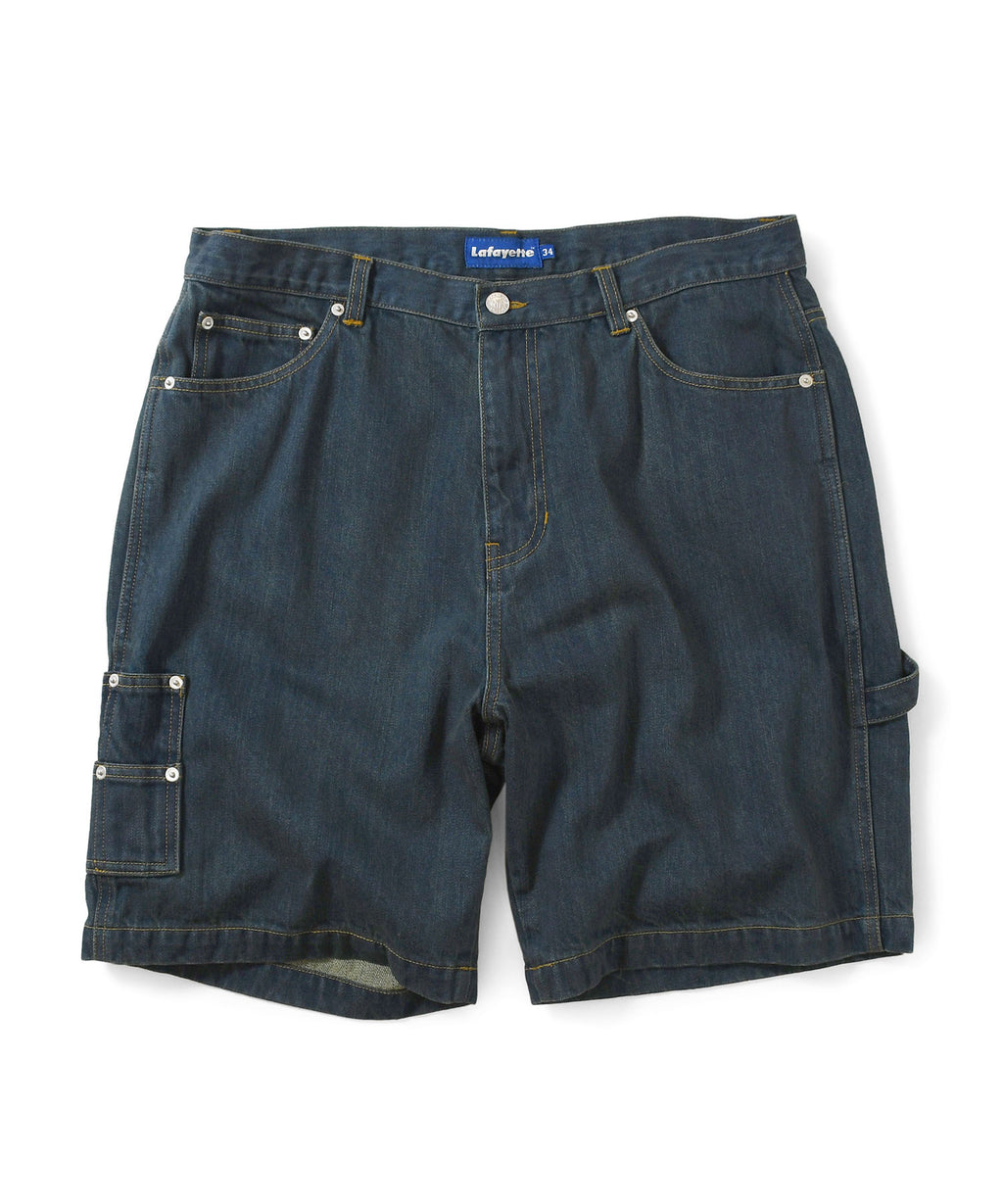 Lafayette DENIM PAINTER SHORTS LS201301 INDIGO BLUE