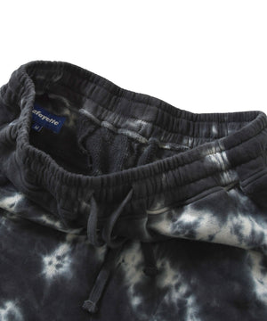 Lafayette OUTLINE LOGO TIE DYED SWEAT SHORTS LS201305 BLACK