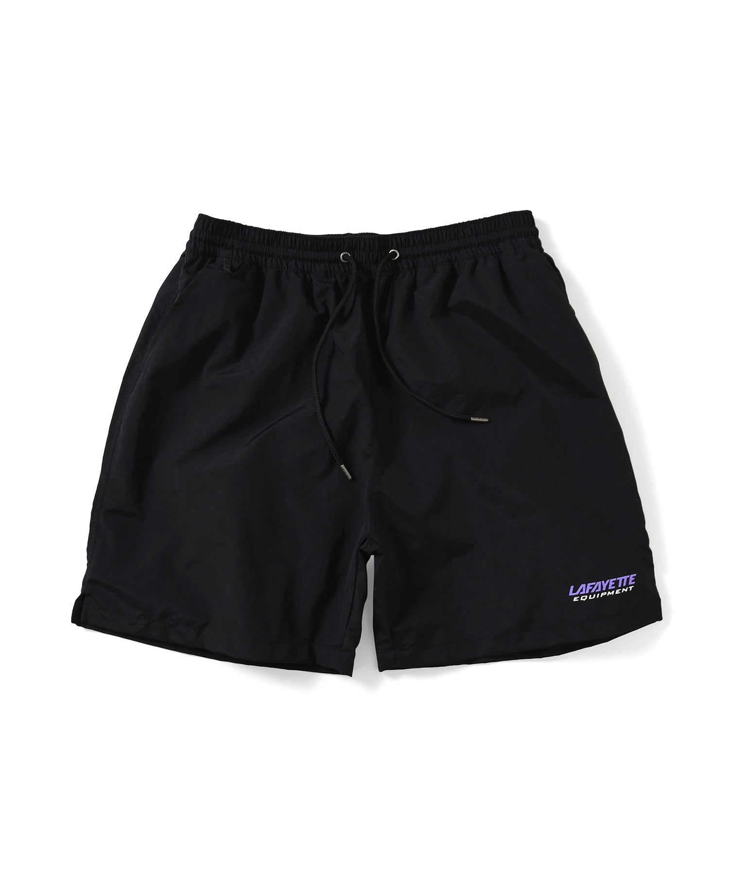 Lafayette EQUIPMENT LOGO NYLON SHORTS LS201308 BLACK