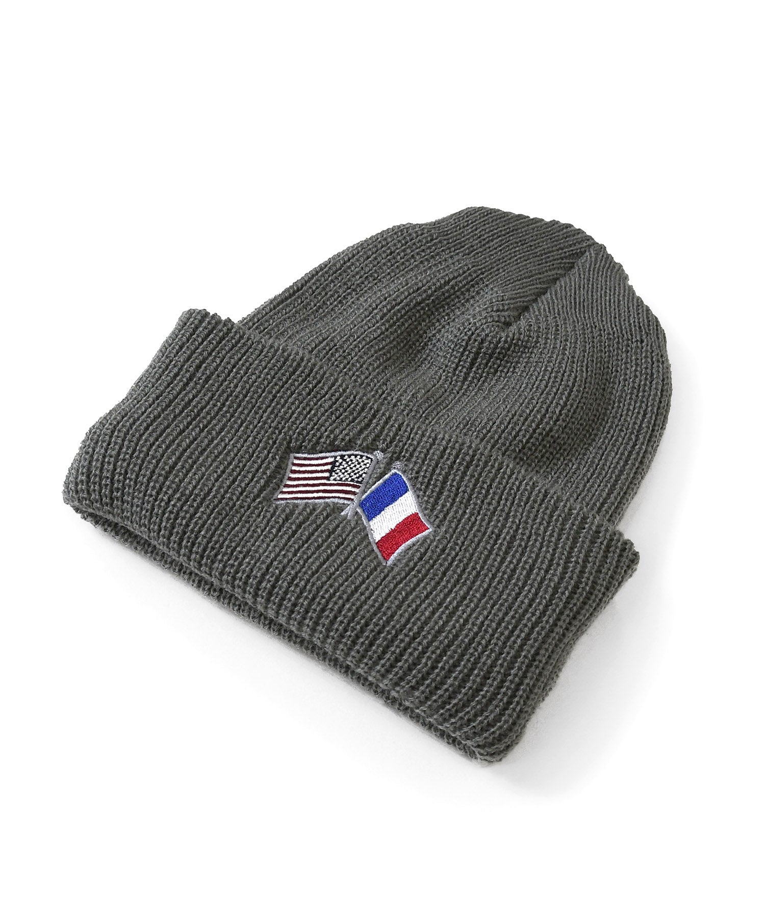 Lafayette CROSS FLAG LONG BEANIE LS201405 GRAY