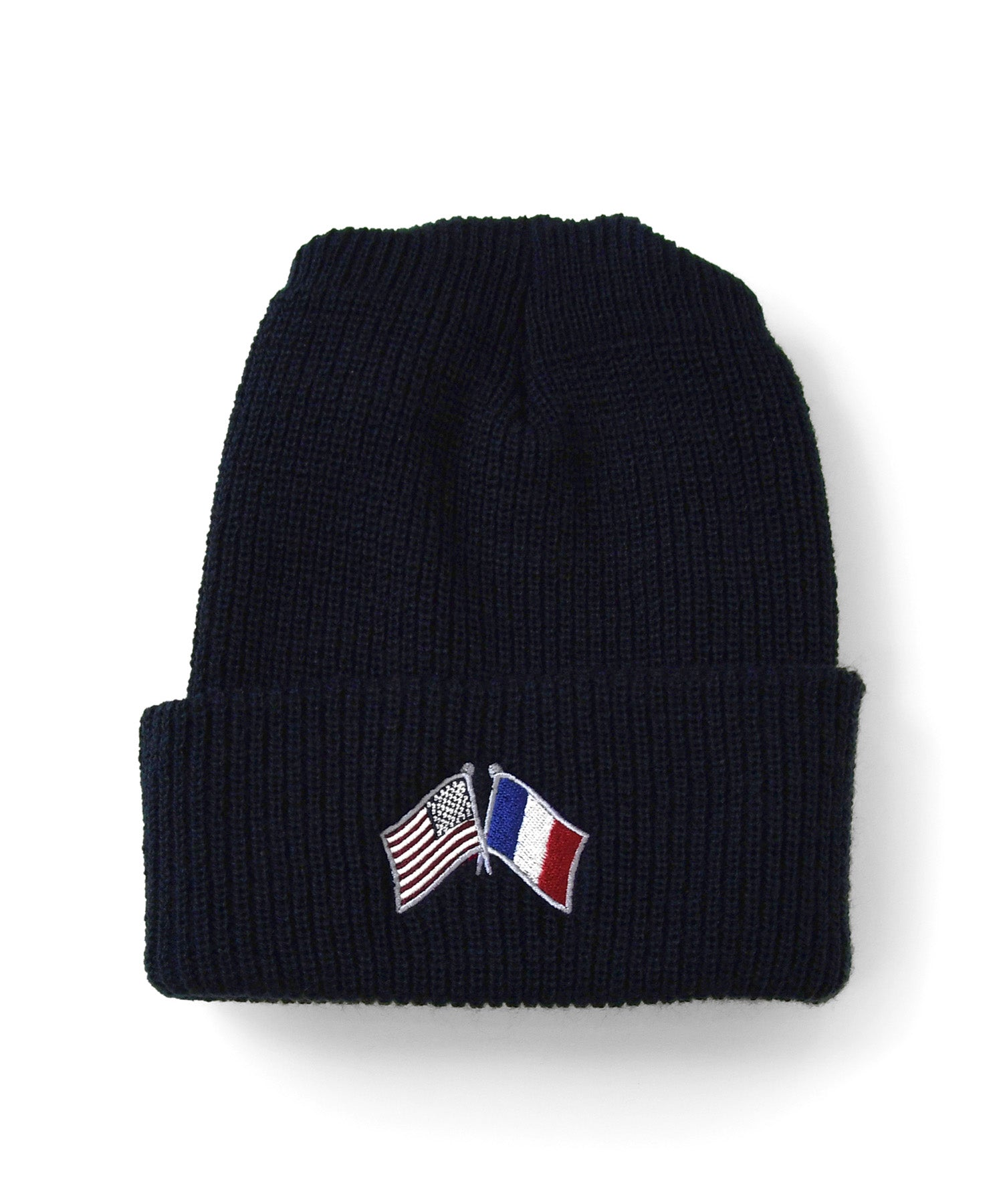 Lafayette CROSS FLAG LONG BEANIE LS201405 NAVY