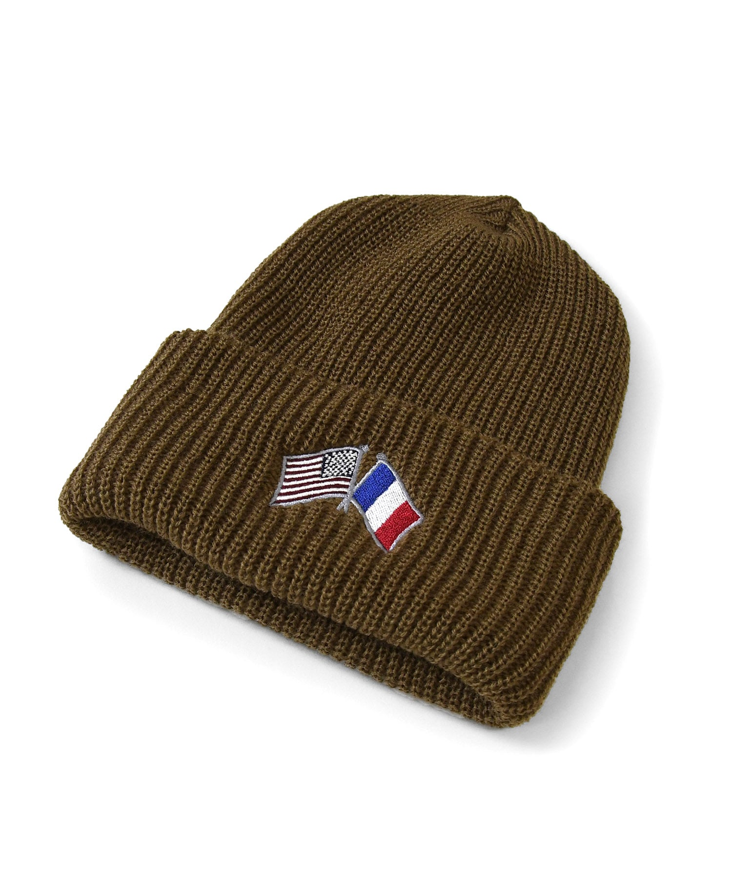Lafayette CROSS FLAG LONG BEANIE LS201405 SAND