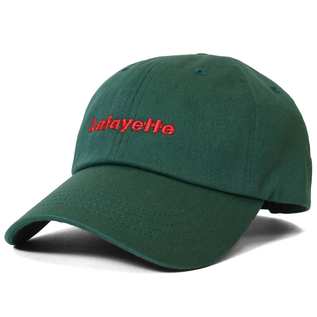 LOGO DAD HAT DARK GREEN LA201410