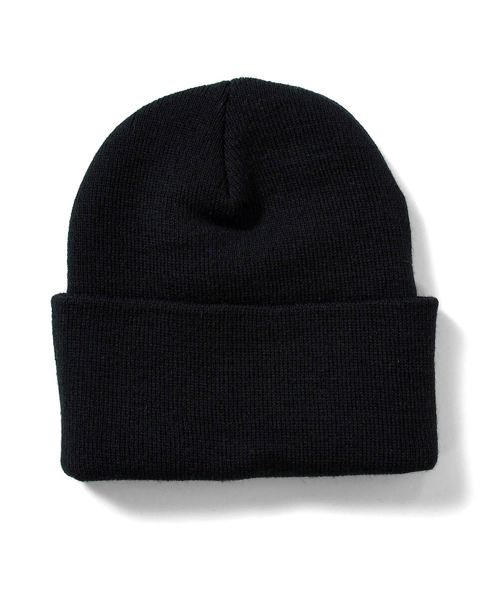 NY RADIO LONG BEANIE BLACK LA201411