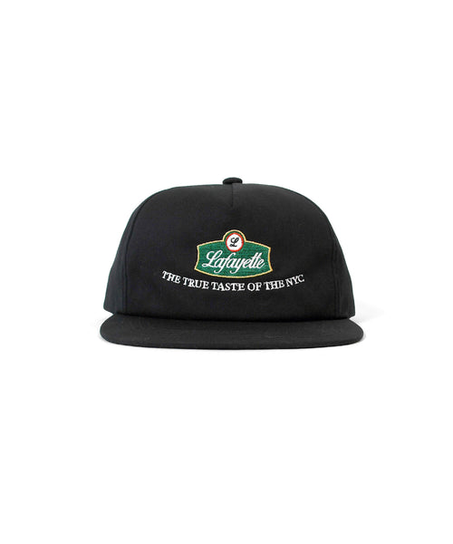 TRUE TASTE FLAT VISOER 5PANEL CAP LS211410 BLACK