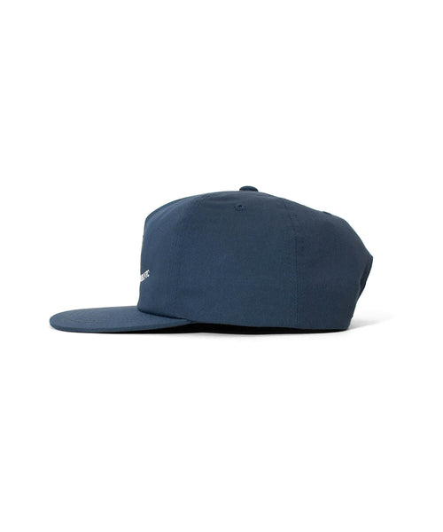 TRUE TASTE FLAT VISOER 5PANEL CAP LS211410 NAVY