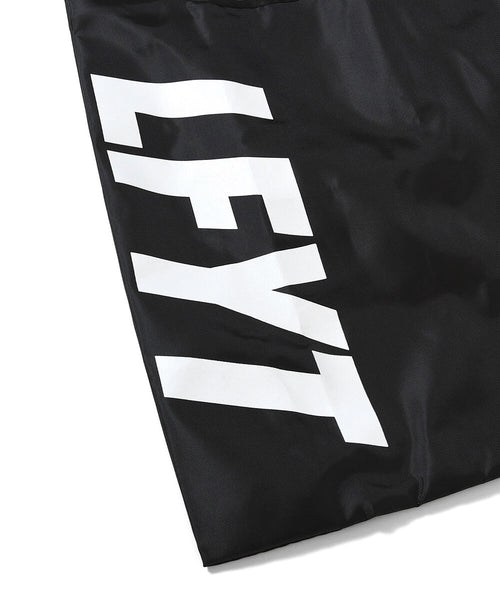 LFYT LOGO ECO BAG LE201502  BLACK