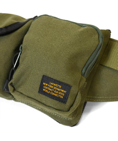 MILITARY WAIST BAG LS211502  MILITARY GREEN