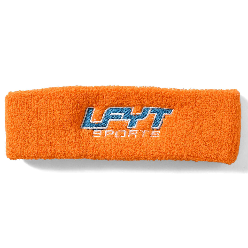 LFYT SPORTS LOGO HEAD BAND LS211702 ORANGE