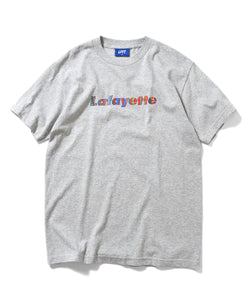 LA200105 HYPNOTIZE LOGO TEE HEATHER GRAY