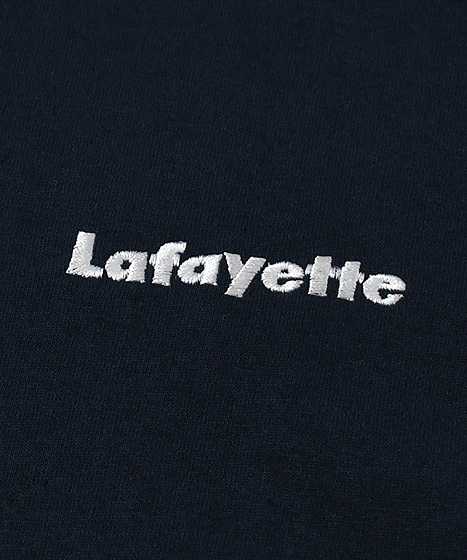 LA200106 SMALL LOGO TEE NAVY