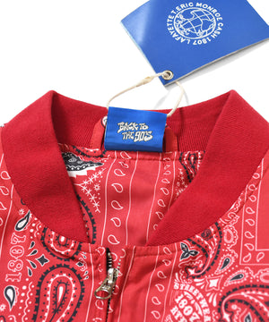 LFYT X 1807 X CASH X T.ERIC PAISLEY JACKET RED LE201002