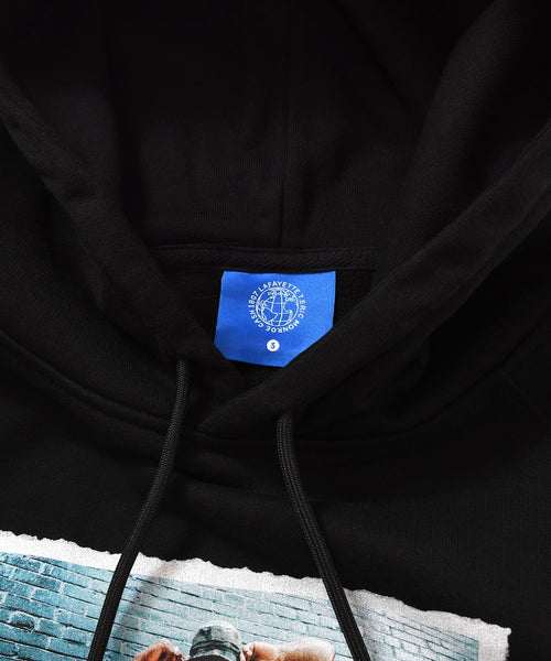 LFYT X 1807 X CASH X T.ERIC RAEKWON AND GFK PULLOVER HOODIE BLACK LE200504