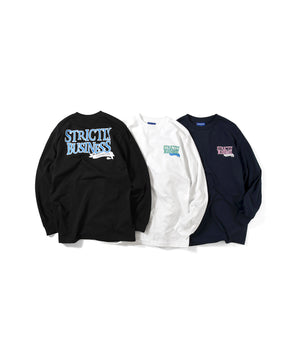 Lafayette STRICTLY BUSINESS L/S TEE LS200111 NAVY
