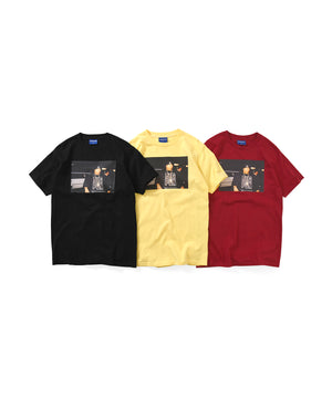 Lafayette × JOHNNY NUNEZ BIG PUN TEE LS200127 YELLOW