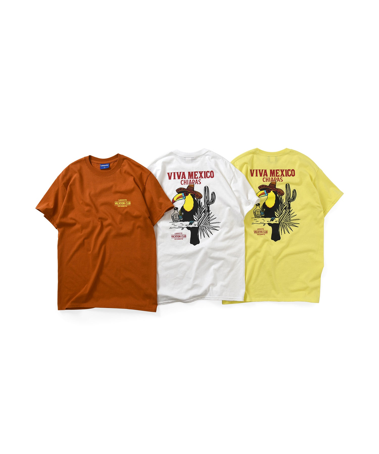 Lafayette VACATION CLUB TEE LS200136 YELLOW