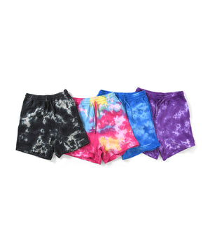 Lafayette OUTLINE LOGO TIE DYED SWEAT SHORTS LS201305 MULTI