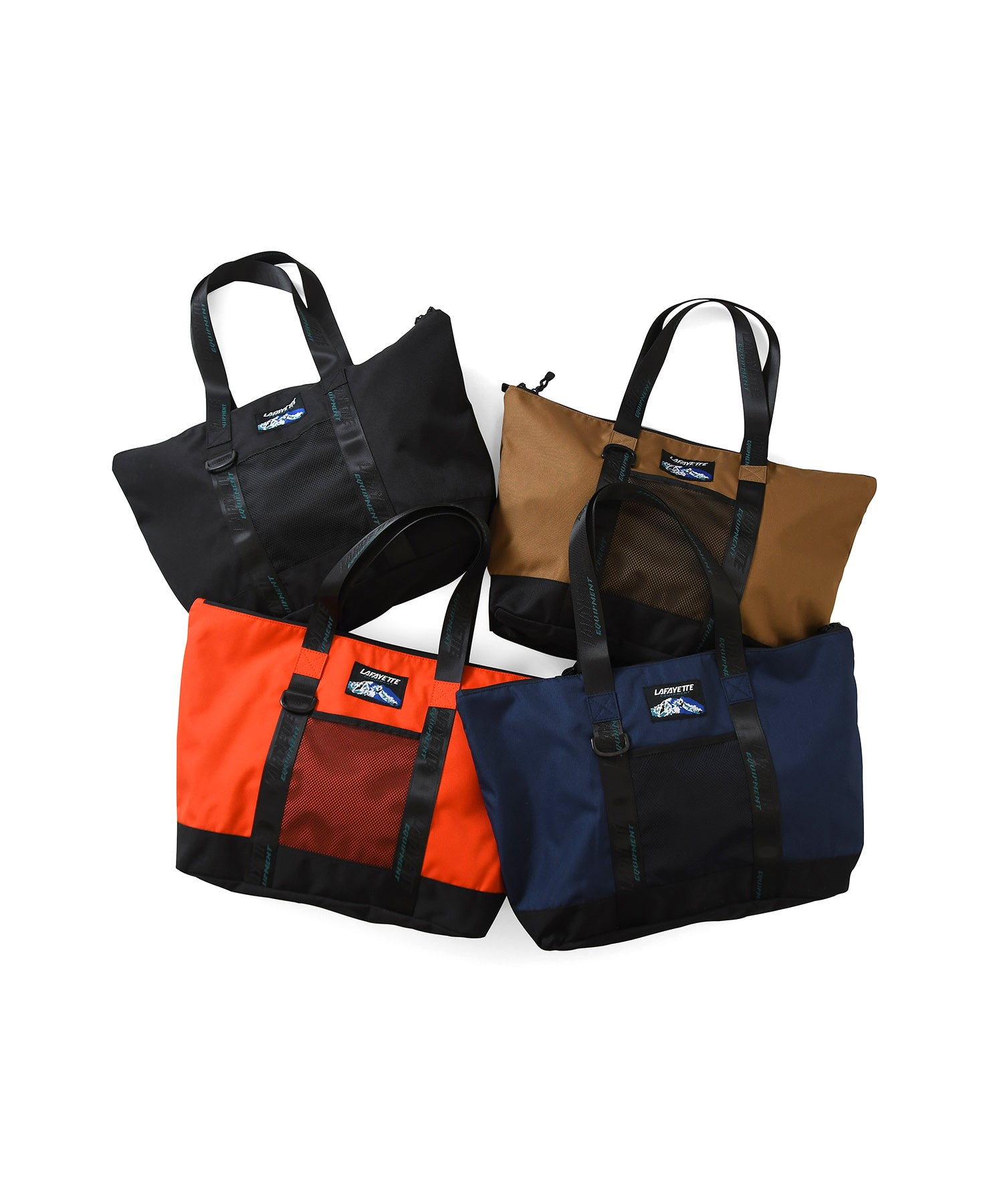 Lafayette EQUIPMENT LOGO NYLON TOTE BAG LS201503 NAVY