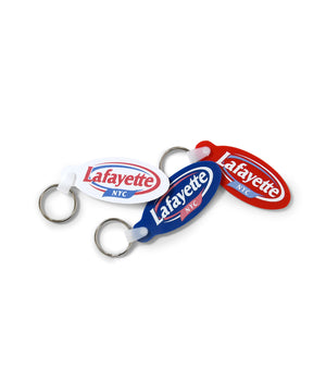 Lafayette KEEP FRESH LOGO RUBBER KEY CHAIN LS201803 RED