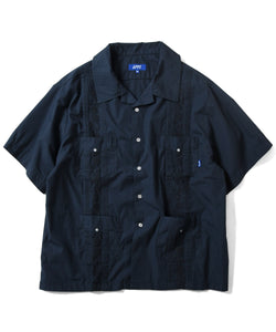 ROSE CUBAN S/S SHIRT LS210205 NAVY
