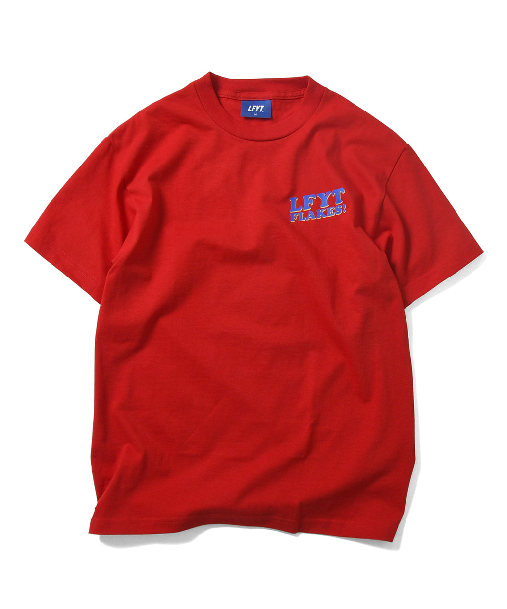 FLAKES! TEE LS210118 RED