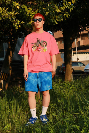 Lafayette × KILLIMAN JAH LOW WORKS KEEPING IT MOVING TEE LS200116 PINK