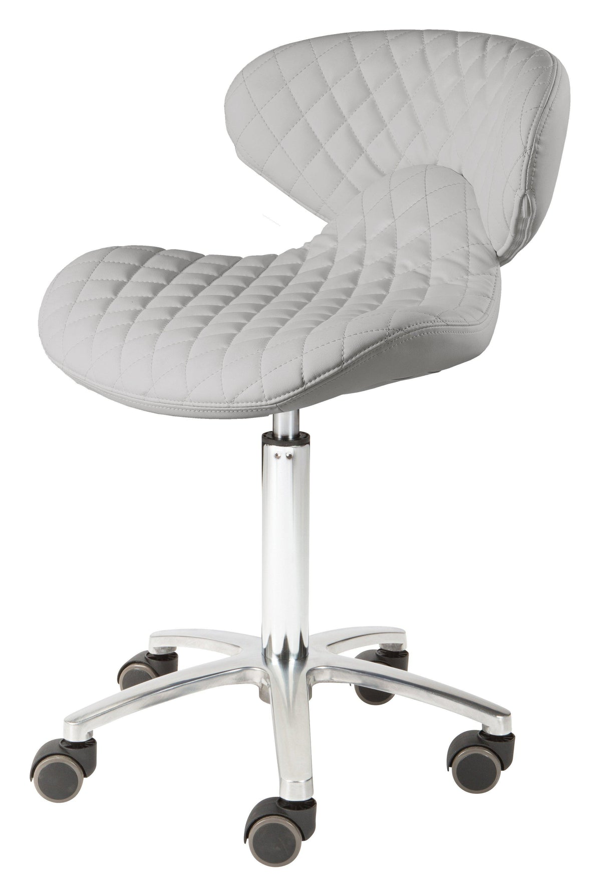 Whale Spa - Technician Stool with Diamond Stitching - Superb Nail Supply