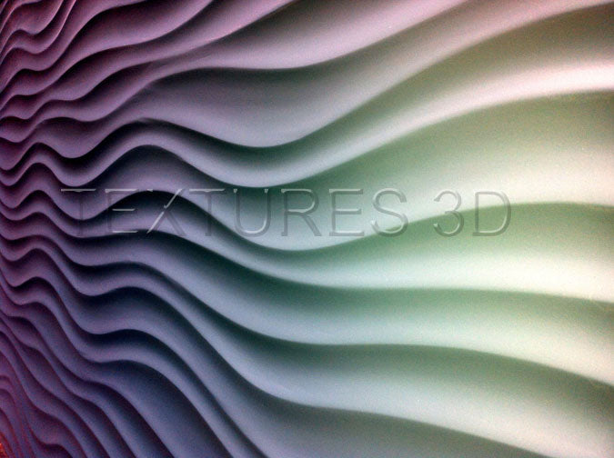 Textures 3D -  Wall Panel 150HD-WAVE150B 4'x8'