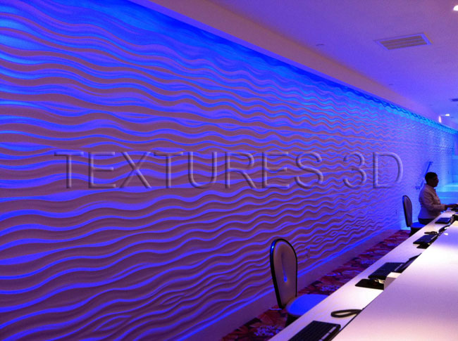 Textures 3D -  Wall Panel 151HD-WAVE151 4'x8'