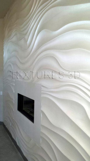 Textures 3D -  Wall Panel 160HD-WAVE143 4'x8'