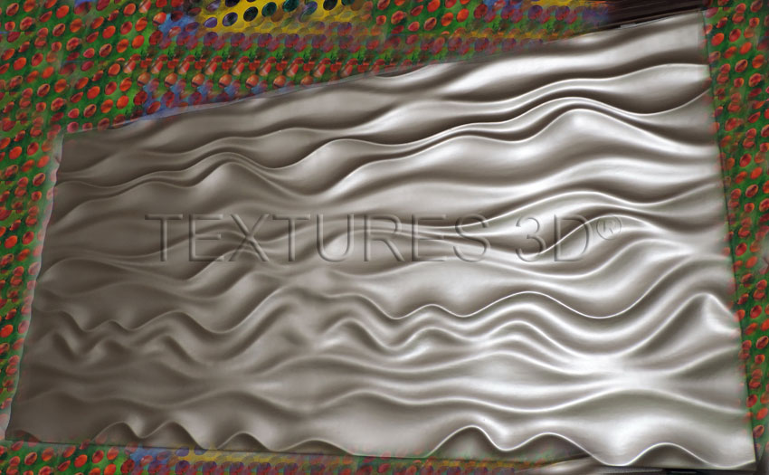 Textures 3D -  Wall Panel 166HD-WAVE27 4'x8'