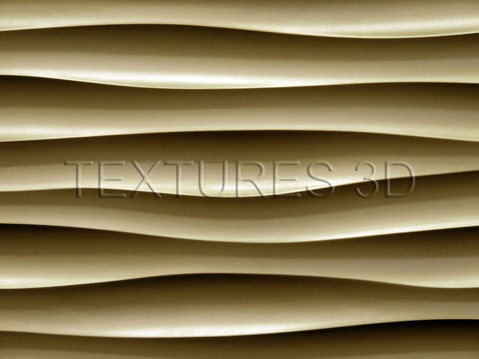 Textures 3D -  Wall Panel 172HD-WAVE003 4'x8'