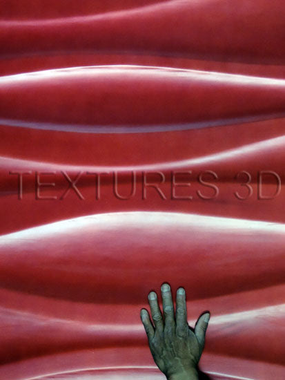 Textures 3D -  Wall Panel 179HD-WAVE010H 4'x8'