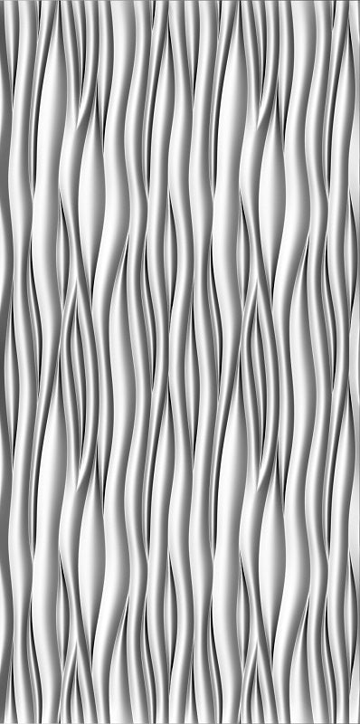 Textures 3D -  Wall Panel 019SDM-WAVE65 4'x8'