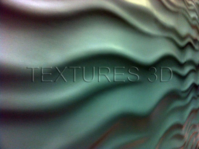 Textures 3D -  Wall Panel 207HD-WAVE201 4'x8'