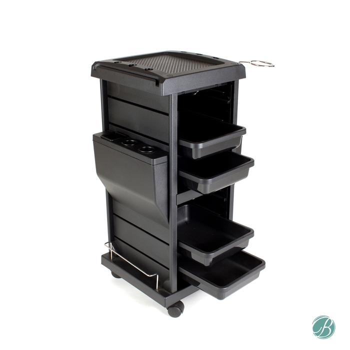 Berkeley - CLAIRE Lockable Salon Trolley - Superb Nail Supply